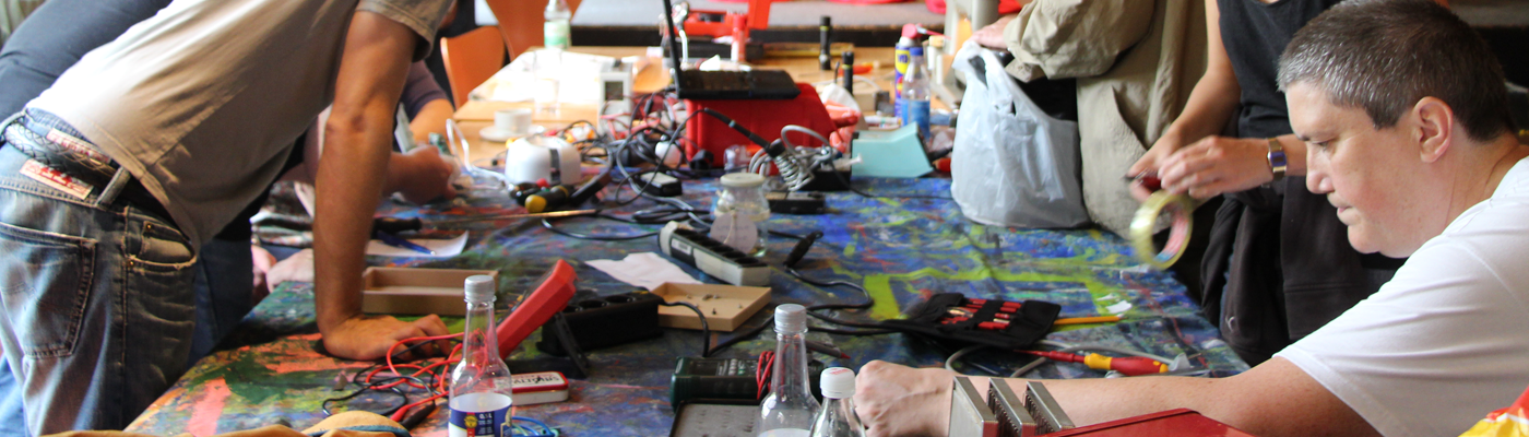Das ReparaturCafé - Eine Werkstatt der besonderen Art